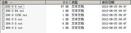 网站日志状态码分类查看